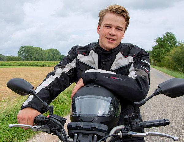 Motor rijbewijs halen in Apeldoorn