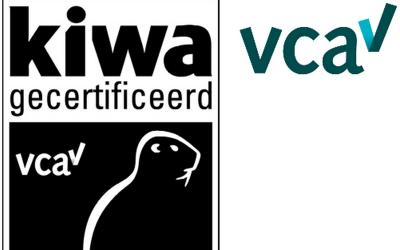 VCA certificaat kiwa halen