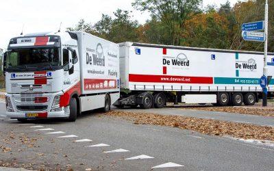 Vrachtwagen rijbewijs zonder chauffeursdiploma